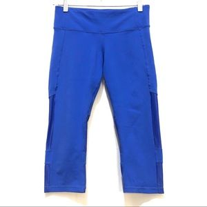 ALO Yoga Capri Legging Blue Workout Size Small